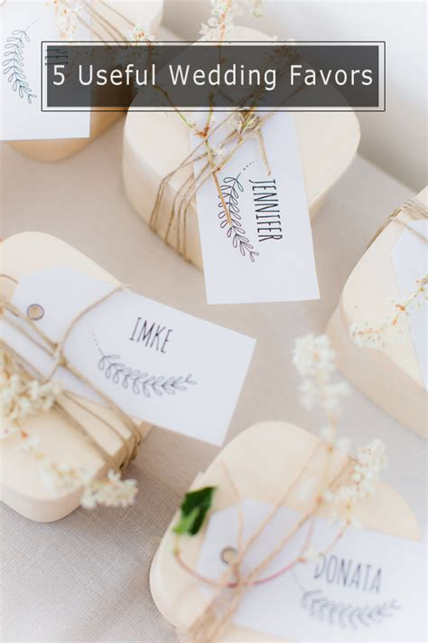 top 5 diy wedding favors your guests will love