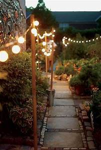 Jaw dropping beautiful yard and patio string lighting