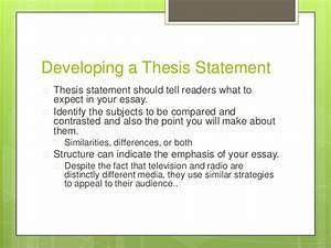 Persuasive Essay Samples High School  Secondary School English Essay also Thesis Statement For Definition Essay Comparative Essay Thesis Statement Compare And Contrast  Sample English Essay