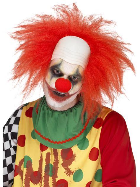 adult deluxe clown wig  fancy dress ball