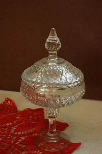 items similar to cut glass compote dish bowl