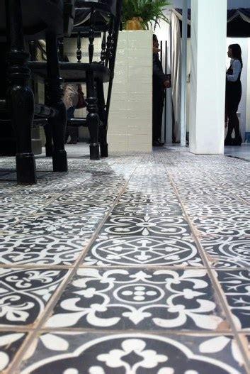 Sydney Vintage Look Tiles Moroccan Encaustic Bespoke Wall