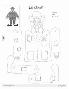 Fabriquer Un Personnage En Carton : fabriquer un pantin articul fichesp ~ Zukunftsfamilie.com Idées de Décoration