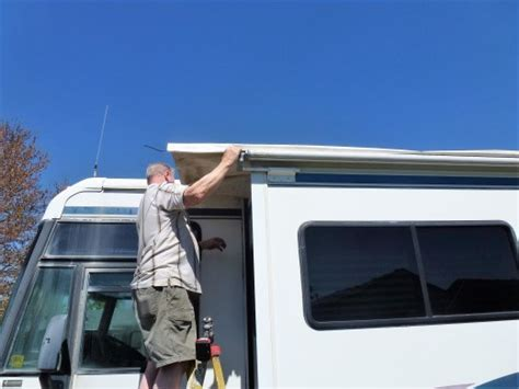 How To Replace Awning Fabric On An Rv Slideout