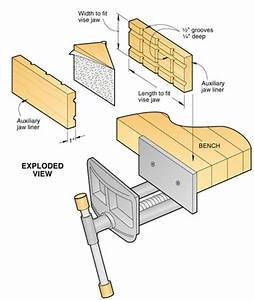 Wood Vise Plans PDF Woodworking