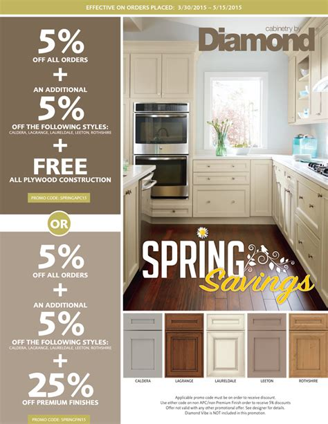 kitchen cabinet promotion cabinets offers a promotion seigles 2693