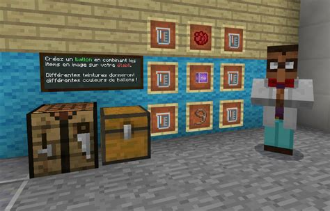 le monde de la chimie minecraft education edition