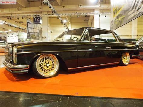 Mercedes stoßstange w114 w115 coupe /8 vorne rechts. Mercedes-Benz W114 Coupe 280 CE 1972 Tuning 185 ps, Custom Airride-Fahrwerk, 3-teilige BBS E50 7 ...