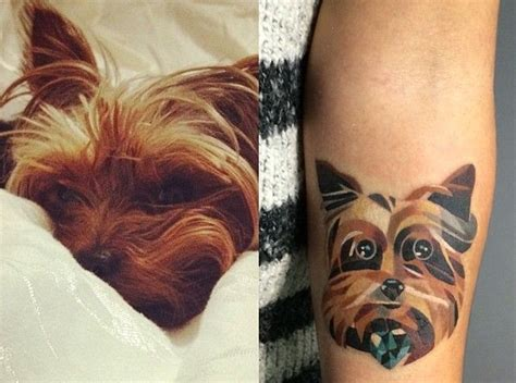 coolest yorkshire terrier tattoo designs   world sonderlives