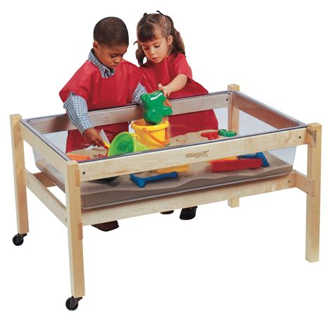 how to sand a table childcraft sand and water activity table