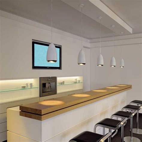 suspension de cuisine suspension blanche à suspendre au dessus d 39 un bar le avenue
