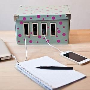 Boite Pour Cable Electrique : comment cacher les prises et cables disgracieux qui ~ Premium-room.com Idées de Décoration