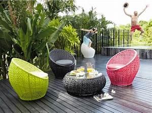 de la couleur pour mon salon de jardin visitedeco With table de jardin de couleur