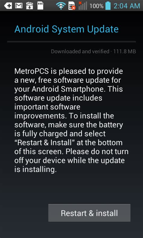 android system update this and that metropcs lg optimus f3 android system update