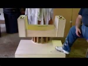 star trek captain kirk s command chair build special