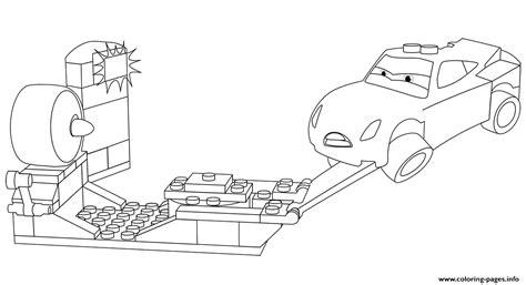 lego junior cars  cruz ramirez coloring pages printable