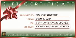 Behind the wheel instruction in Chandler
