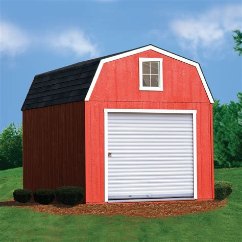 Heartland Storage Shed Doors by Estate 10ft X 16ft Heartland Industries