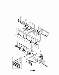 Hitachi Model Cr13v Saw Reciprocating Genuine Parts