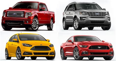 Lowest Cost Cars To Own by 4 Ford Vehicles Awarded For Lowest 5 Year Cost To Own