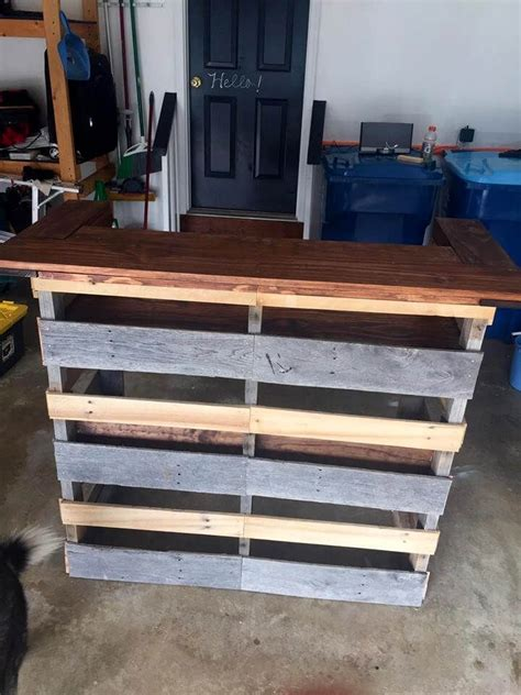 build  pallet bar step  step instructions pallet