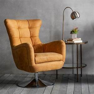 Tan, Bristol, Swivel, Chair