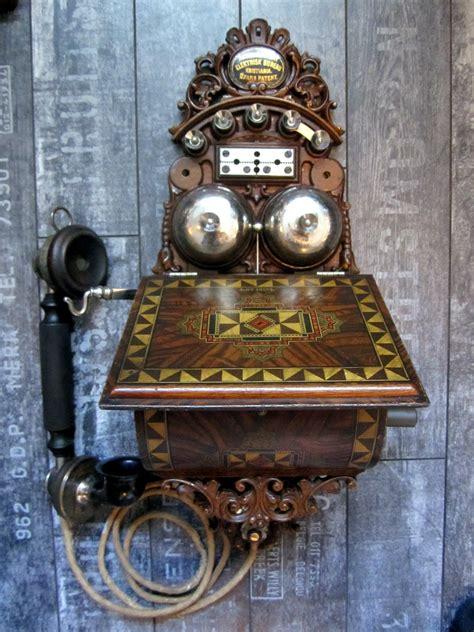telephone bureau elektrisk bureau kristiania 1895 wall telephone greatest