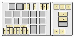 Toyota Land Cruiser  2002  - Fuse Box Diagram