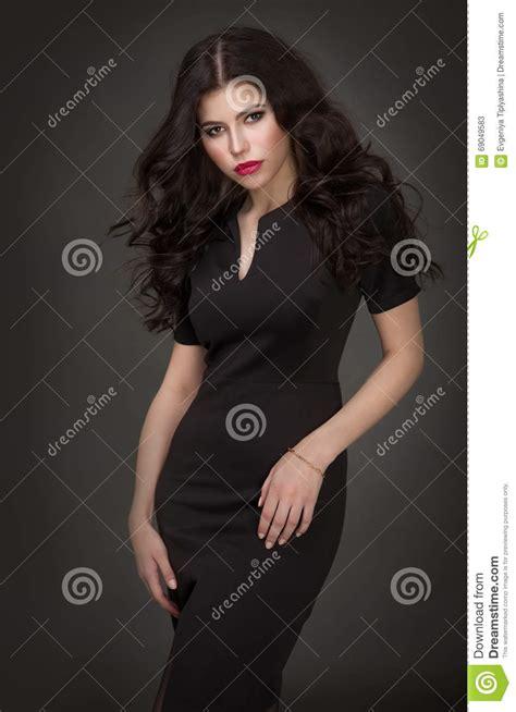 Seductive Brunette Girl Stock Image Image Of Beauty