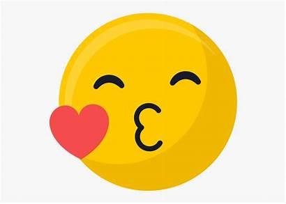 Emoji Kiss Clipart Cartoon Cliparts Transparent Face
