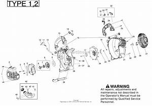 Poulan Bvm210vs Gas Blower Type 2 Parts Diagram For