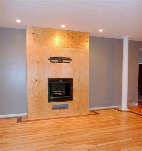 How To Build A Gas Fireplace Surround Fireplace Designs
