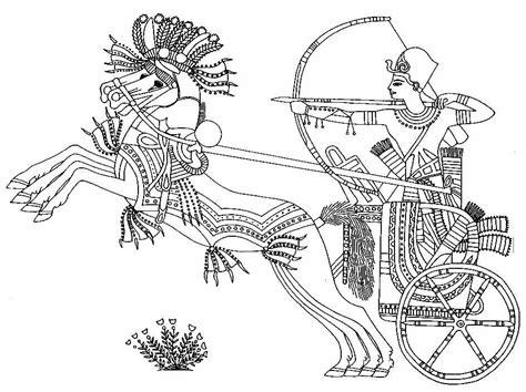 Jeroglificos Egipcios Para Colorear