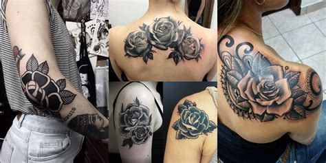 Tatuaggio Interno Coscia by 40 Tatuaggi Con La Rosa Nera Modelli E Significati