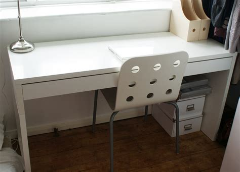 ikea bureau micke blanc white micke from ikea ikea shopping list