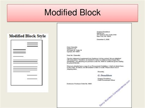 Modified Block Letter Template Word