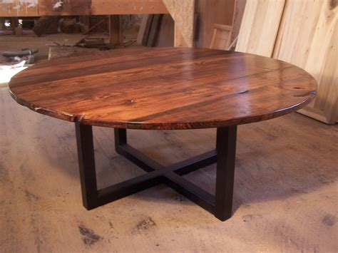 shipping large  coffee table  industrial metal