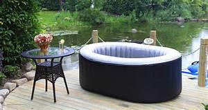 Spa 2 Places Gonflable : le meilleur spa gonflable pour petits espaces est le 2 places ~ Melissatoandfro.com Idées de Décoration