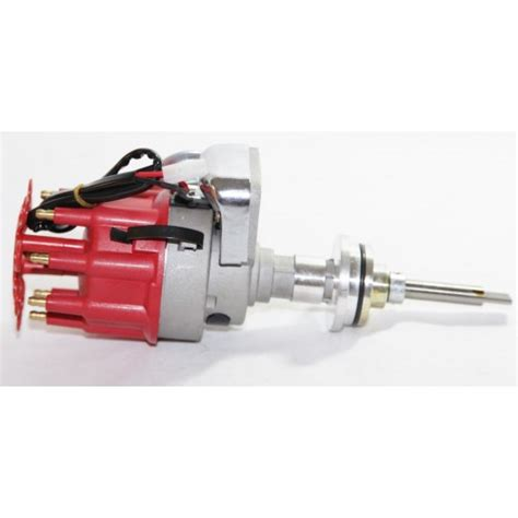 electronic heidistributor red fits small block mopar dodge