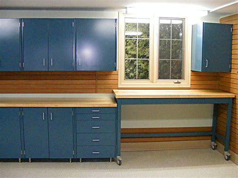 garage workbench cabinet systems  garage design