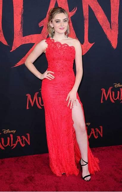 Mulan Premiere Meg Donnelly Hollywood Gotceleb