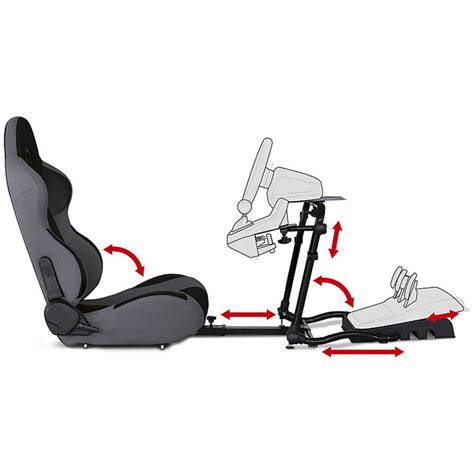 siege baquet inclinable bigben 120 rs competition seat siège pc bigben