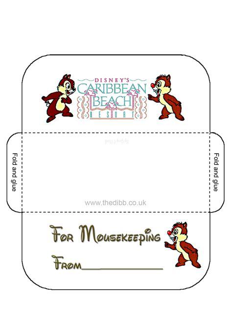 mousekeeping envelopes thedibb