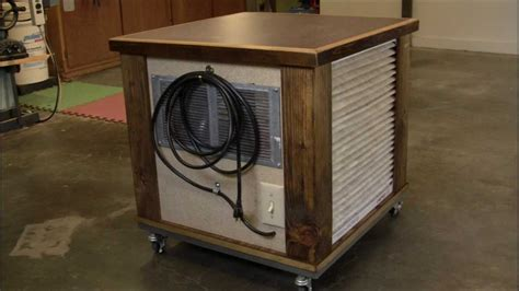 woodshop air filtration  woodworking