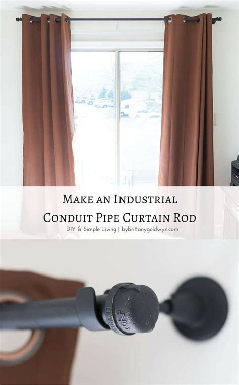 best 25 pipe curtain rods ideas on