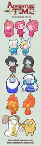 Adventure Time chibis by SiliceB on DeviantArt