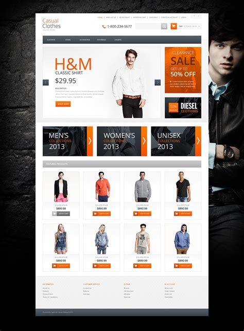 la mejor tienda template drupal plantilla opencart 46800 para sitio de tienda de ropa