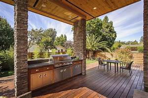 Top, 15, Outdoor, Kitchen, Designs, And, Their, Costs