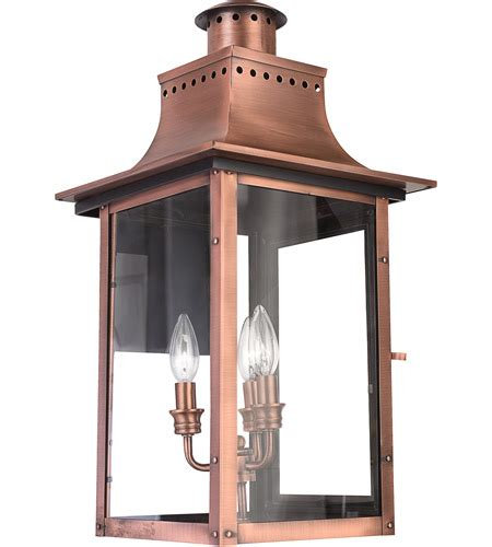 quoizel cm8412ac chalmers 3 light 23 inch aged copper