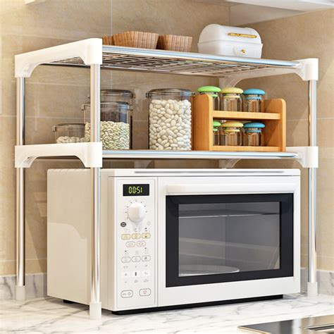 tier multi functional kitchen storage shelf table rack